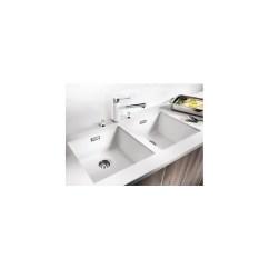 Blanco Undermount Kitchen Sinks Skinny Island Subline 400 U Granit Sink