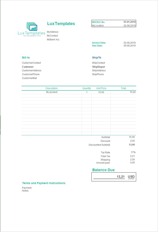 invoice generator tracker dashboard