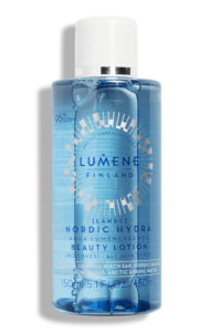 travel accessories Lumene Nordic Hydra Beauty Lotion