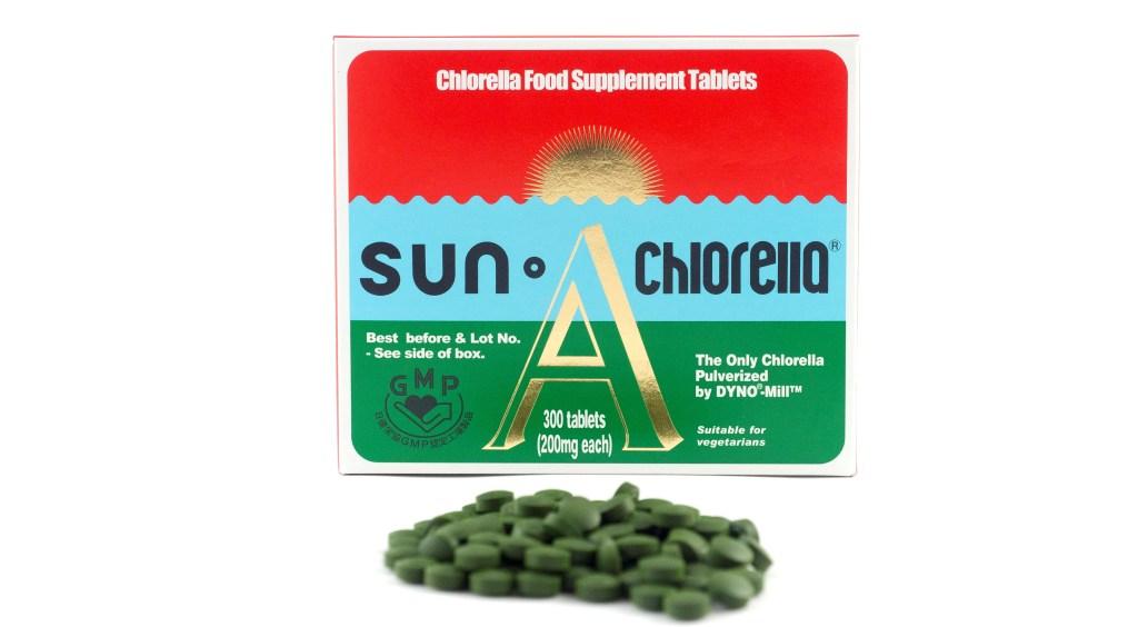 sleep better sun chlorella