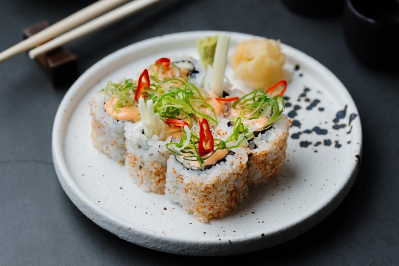 Hot stones and sushi at Tokii restaurant, London