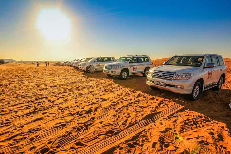 Dubai Desert Safari - Luxuria Tours & Events