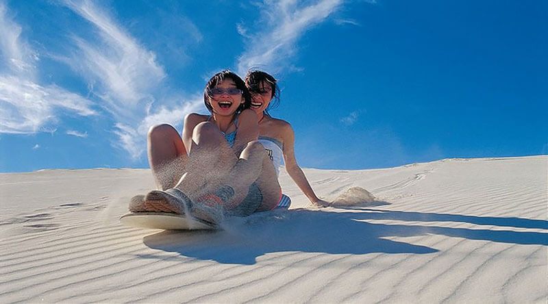 Sand Boarding - Luxuria Tours & Events