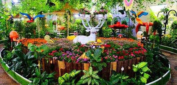 Butterfly Garden, inside - Luxuria Tours & Events