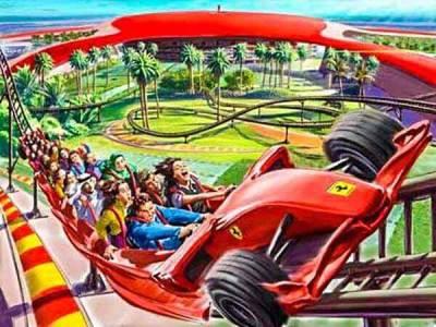 Ferrari World AD Entertainment - Luxuria Tours Events
