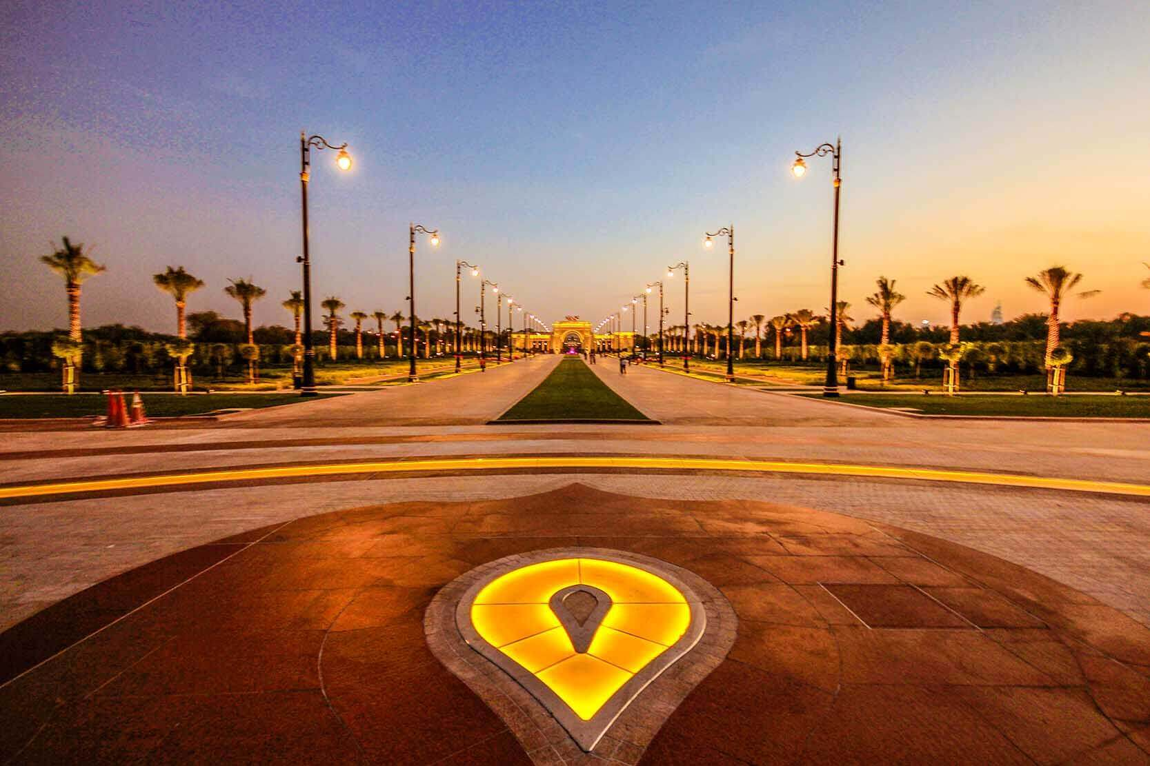 Shiek Mohammed Al Maktoum Palace Dubai - Luxuria Tours & Events