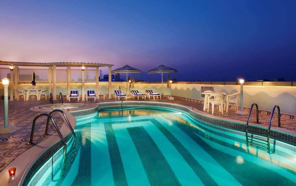 Avenue Hotel Dubai - pool- Luxuria Tours & Events