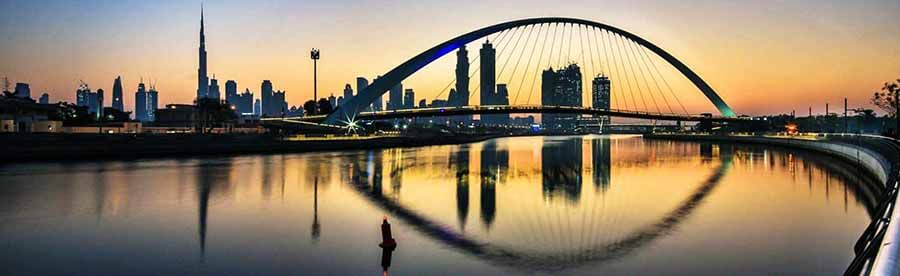 Dubai Water Canal - Luxuria Tours & Events
