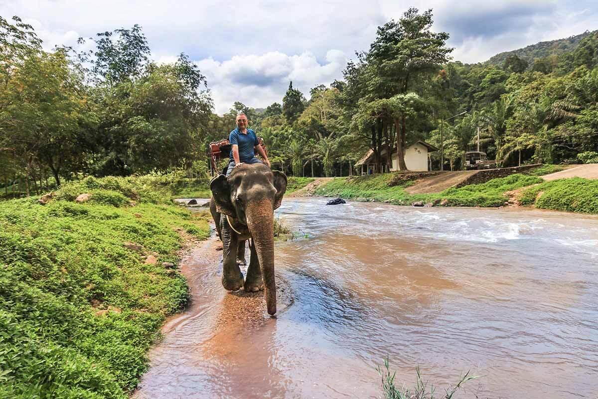 Elephant Ride 3, Phuket, Thailand