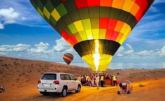 Hot Air Balloon - Luxuria Tours