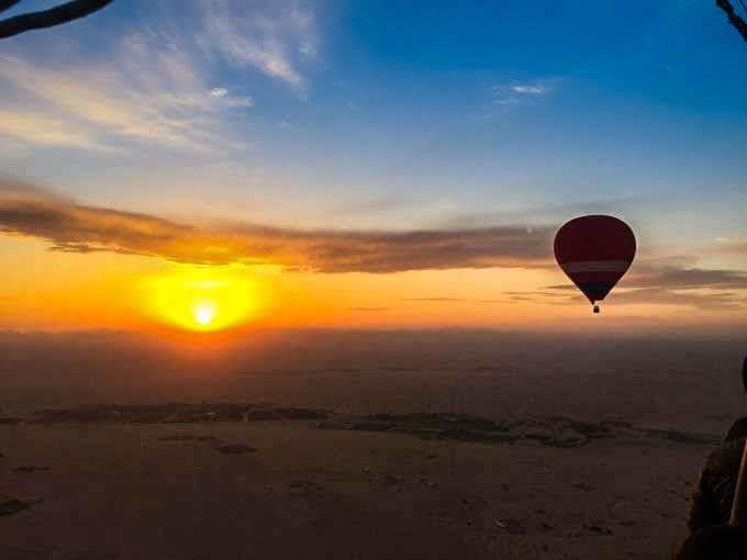 Hot Air Balloon Ride - Sunrise