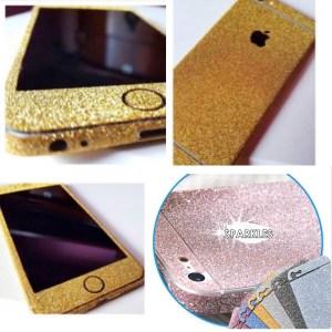 glitter iPhone 6 skin