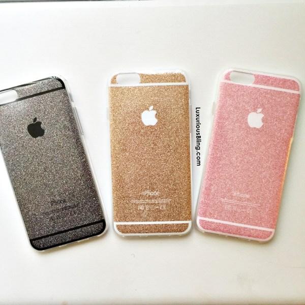 glitter iphone case all