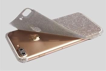 reputable site b81b1 dc7e2 Glitter iPhone 7 Sticker Skin - for iPhone 7 iPhone 7 Plus