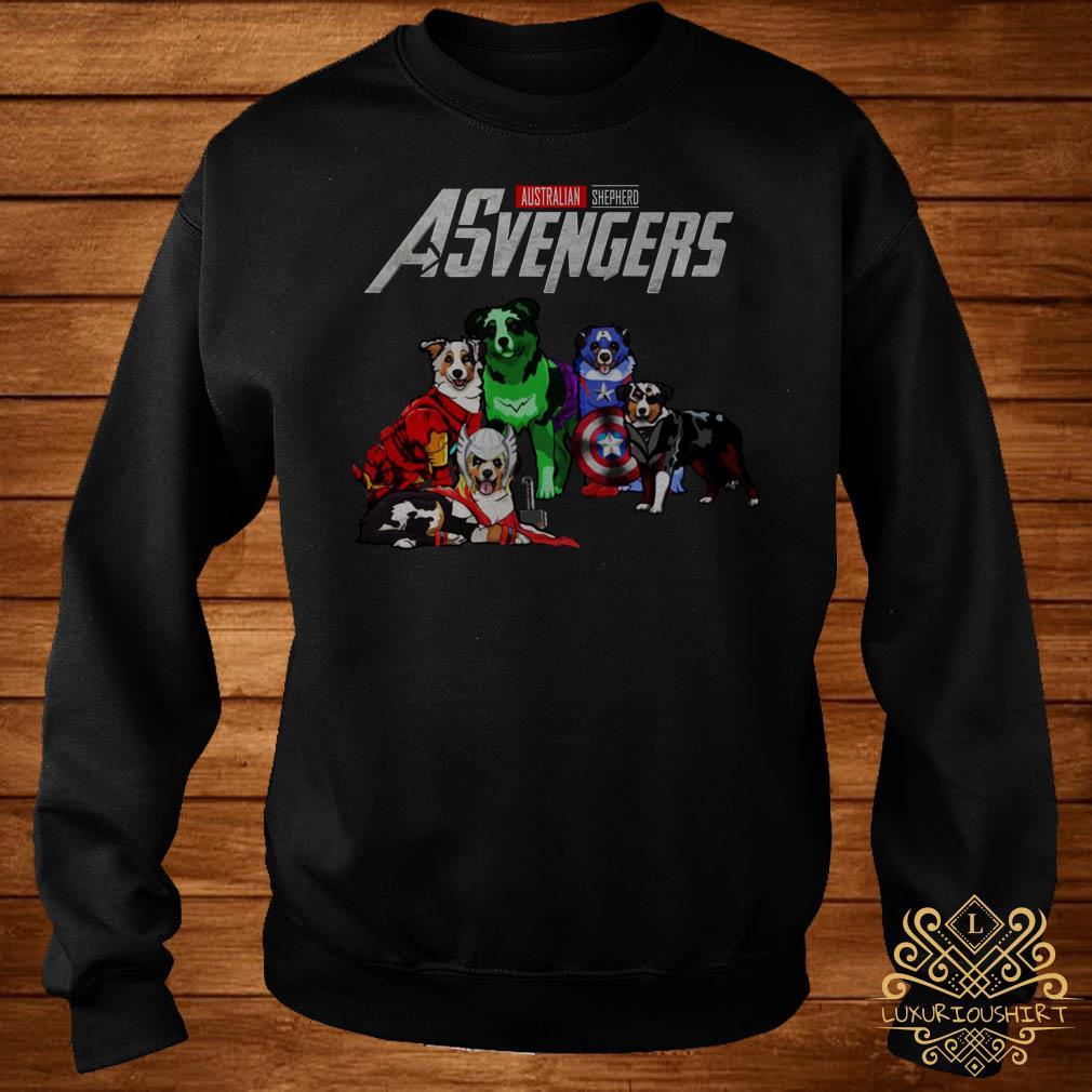 Australian Shepherd Asvengers sweater