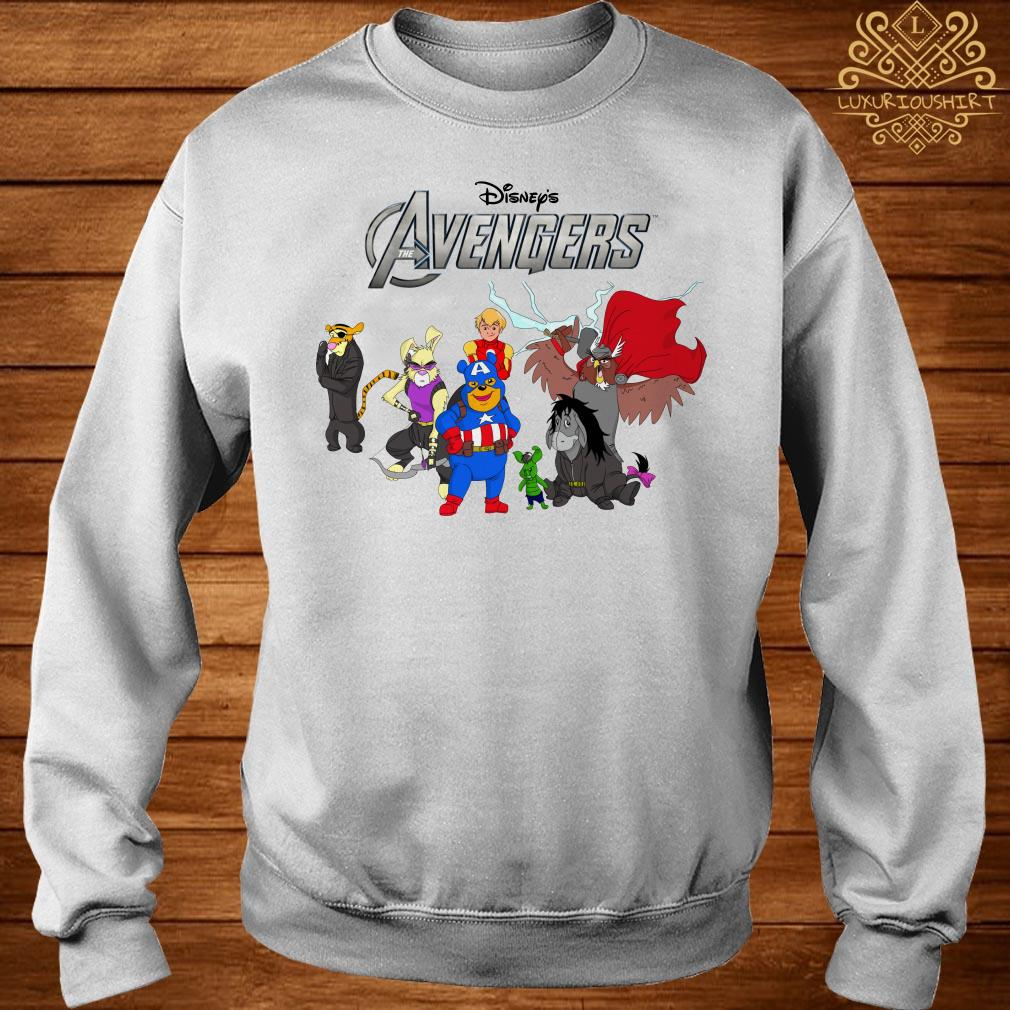 Disney Avengers Winnie the Pooh style sweater