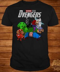 Dvengers Dachshund version shirt