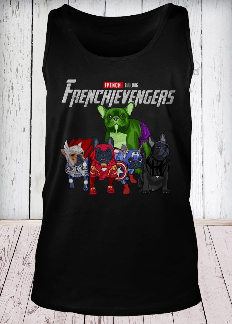Frenchievengers French Bulldog tank-top
