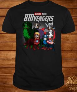 Marvel Avengers Bernese Mountain BMvengers shirt