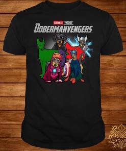 Marvel Avengers Doberman Pinscher Dobermanvengers shirt