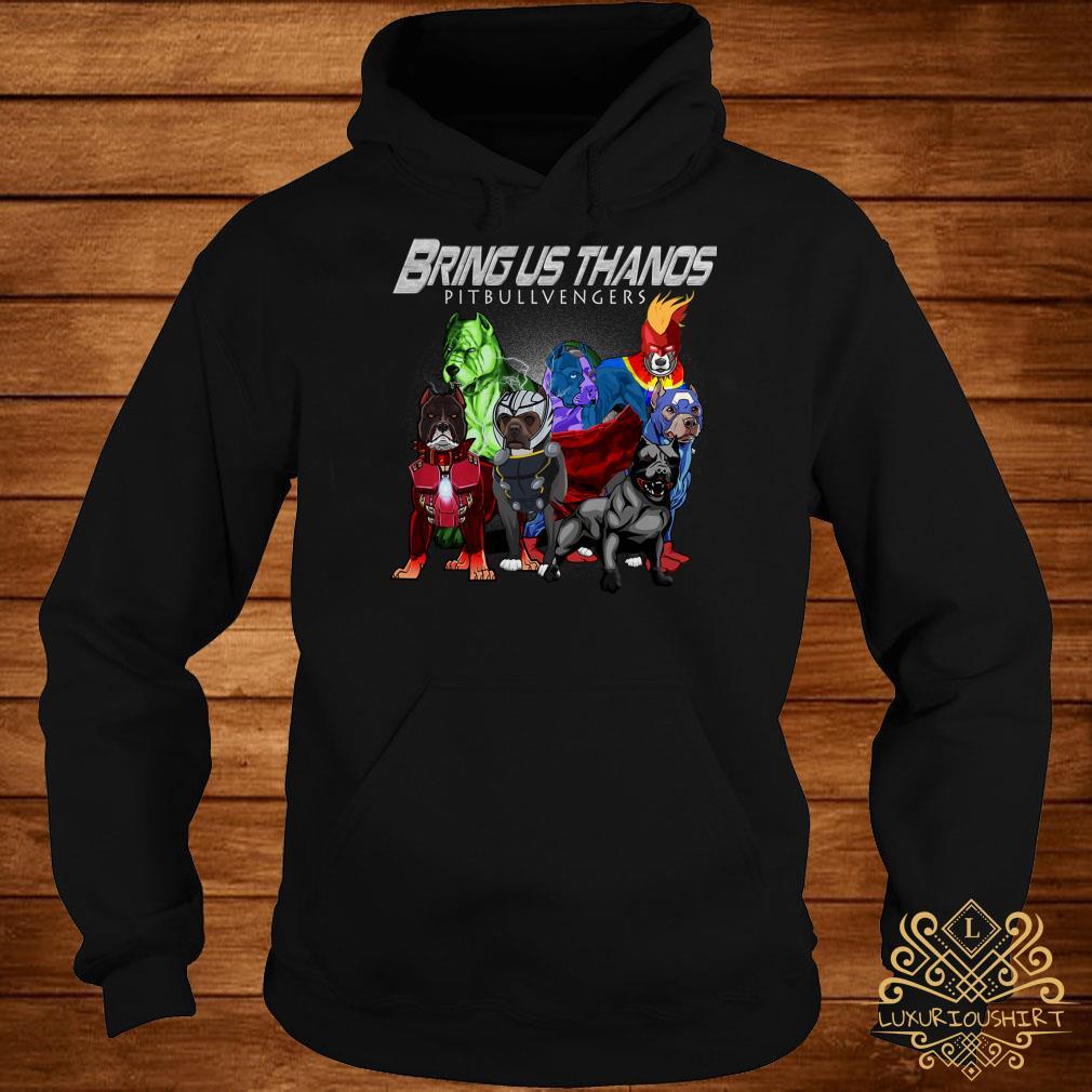 Marvel Avengers Endgame Bringus Thanos Pitbull Avengers hoodie