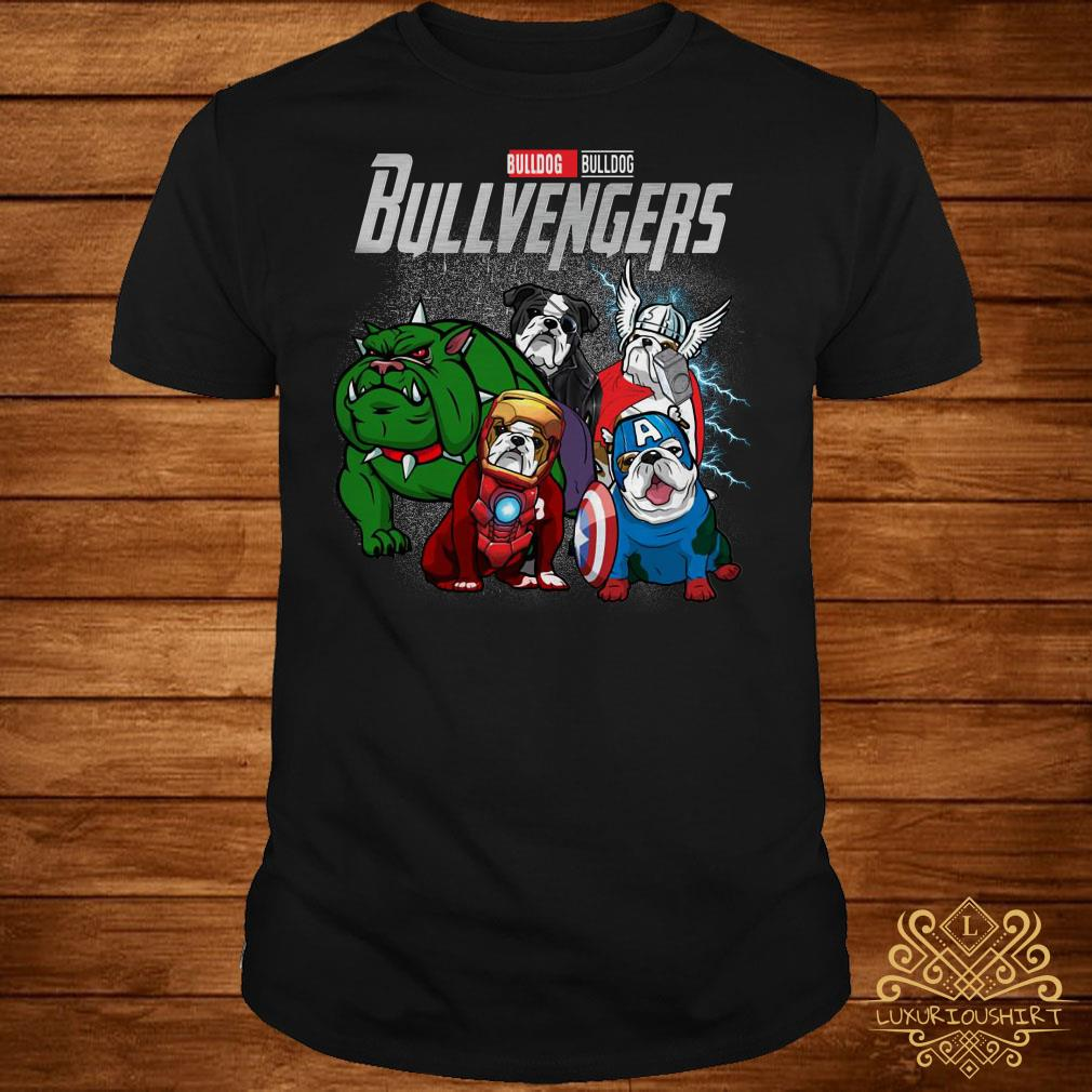01a0923f Marvel Avengers Endgame Bulldog Bull Avengers shirt, sweater, hoodie ...