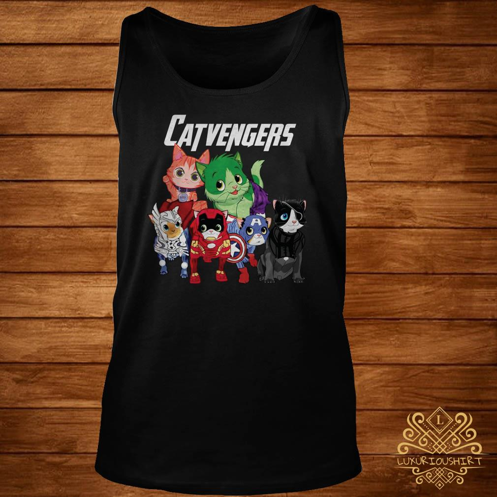 Marvel Avengers Endgame Catvengers tank-top