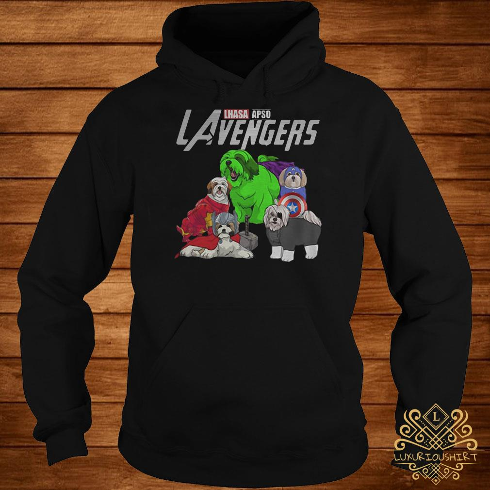 Marvel Avengers Lhasa Apso LAvengers hoodie