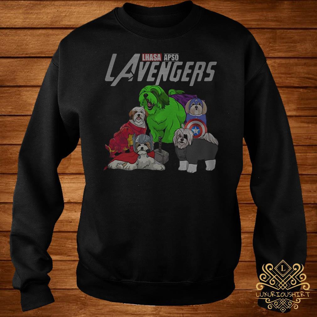 Marvel Avengers Lhasa Apso LAvengers sweater