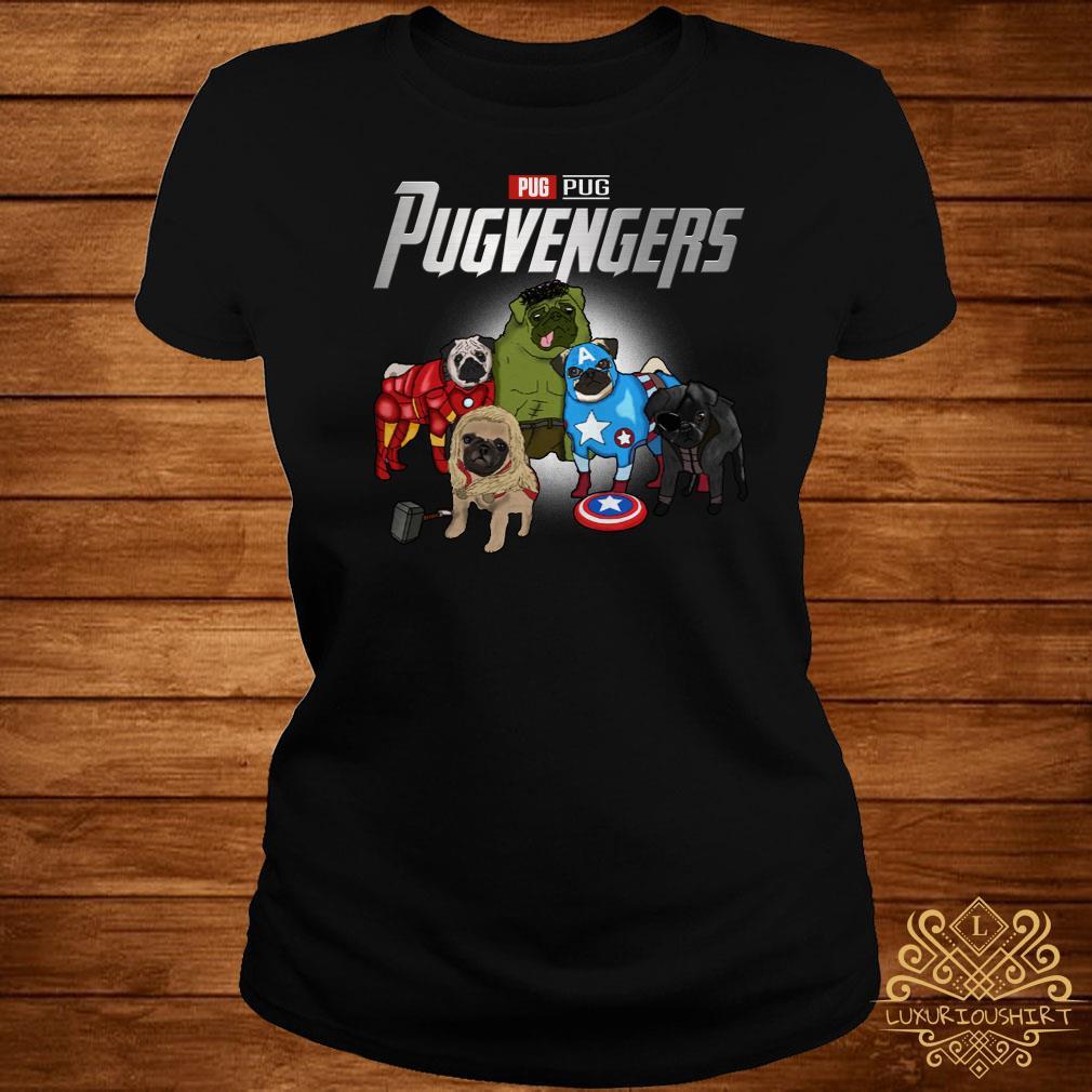 Marvel Avengers Pug Pugvengers ladies tee