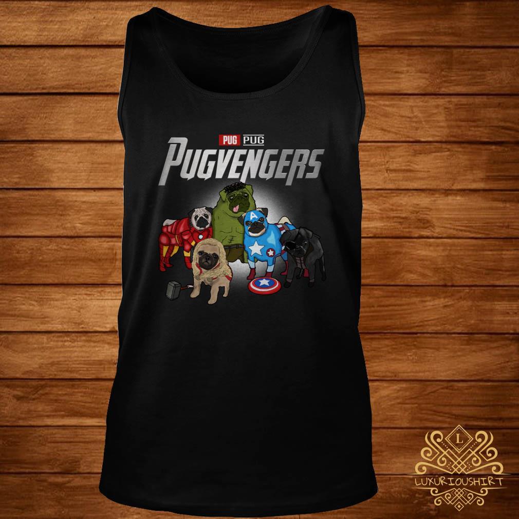 Marvel Avengers Pug Pugvengers tank-top