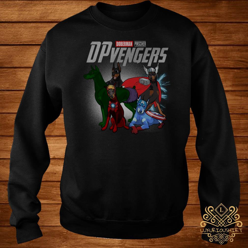 Marvel Doberman Pinscher DPvengers sweater