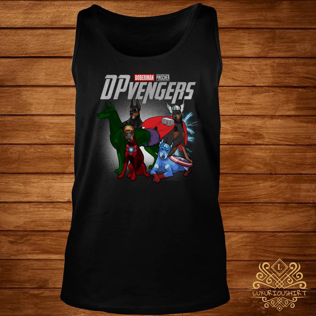 Marvel Doberman Pinscher DPvengers tank-top