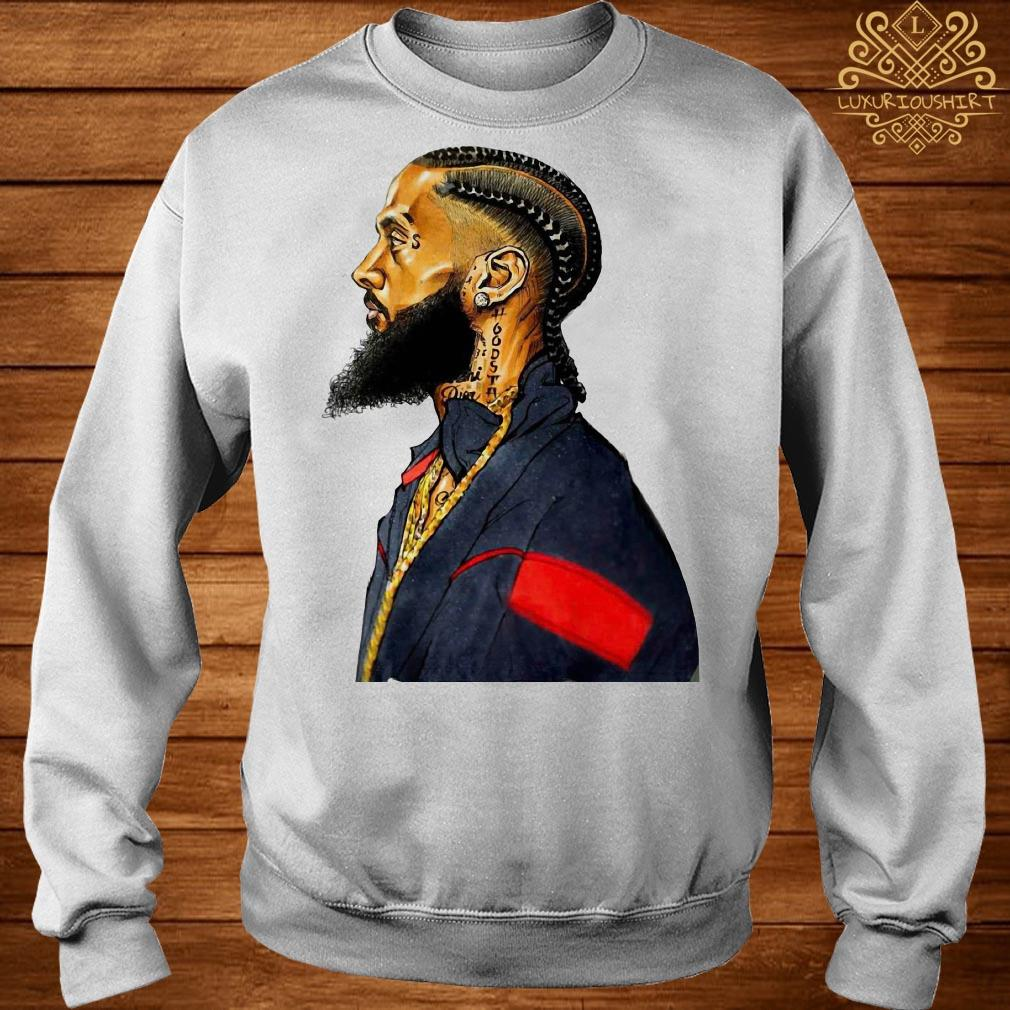 Rapper Nipsey Hussle rest in peace sweater