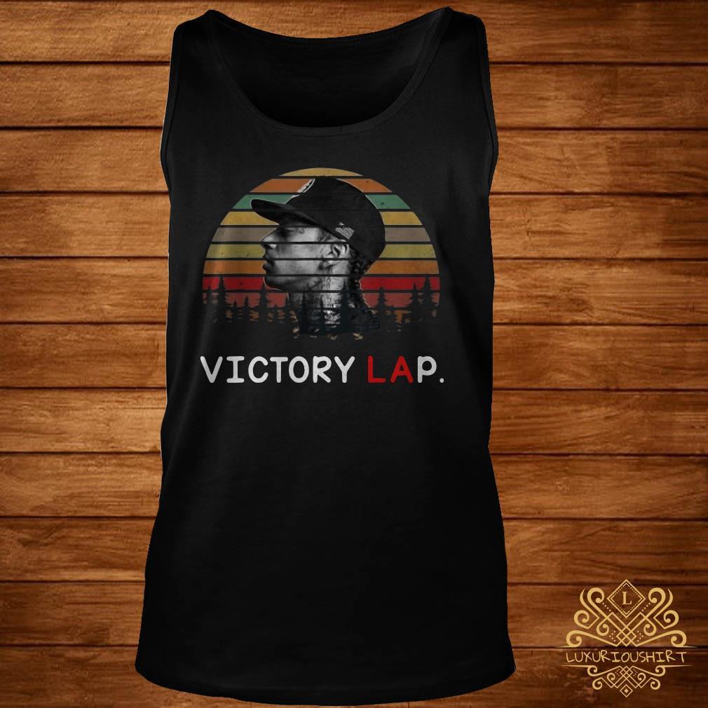 Sunset Nipsey Hussle last tweet picture victory lap tank-top