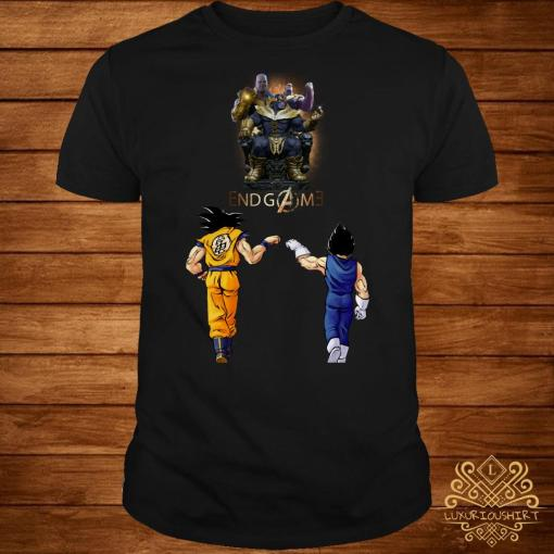 Thanos endgame Goku and Vegeta shirt