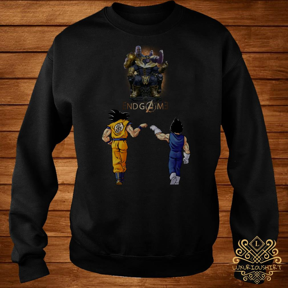 Thanos endgame Goku and Vegeta sweater