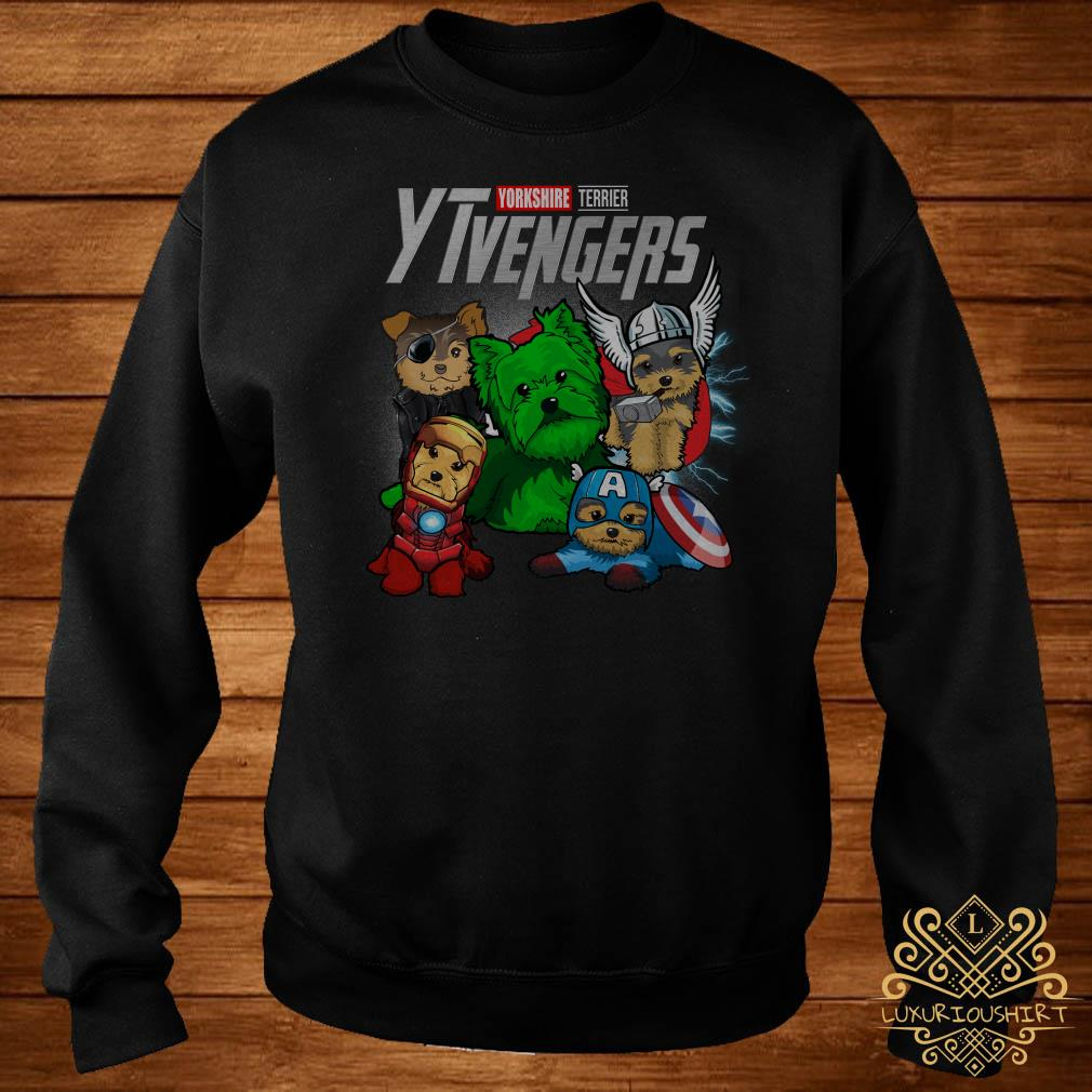 Yorkshire Terrier YTvengers sweater