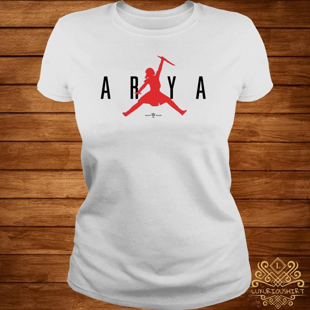 Game of thrones air arya ladies tee