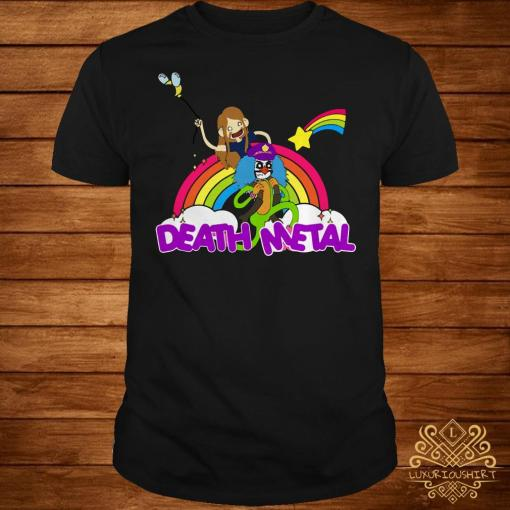 Toki and Dr Rockso death Metal shirt