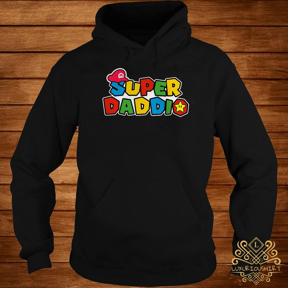 Father's day super Daddio hoodie
