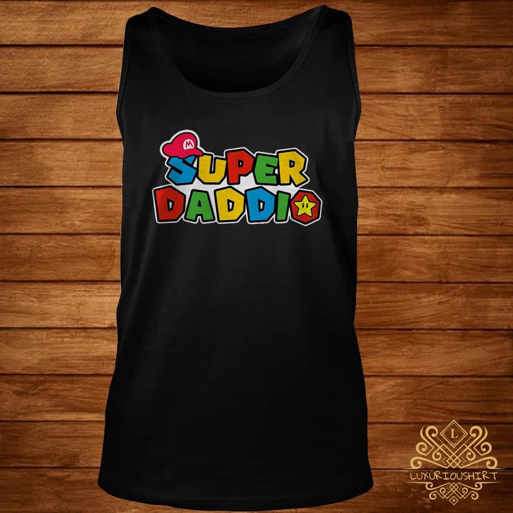 Father's day super Daddio tank-top
