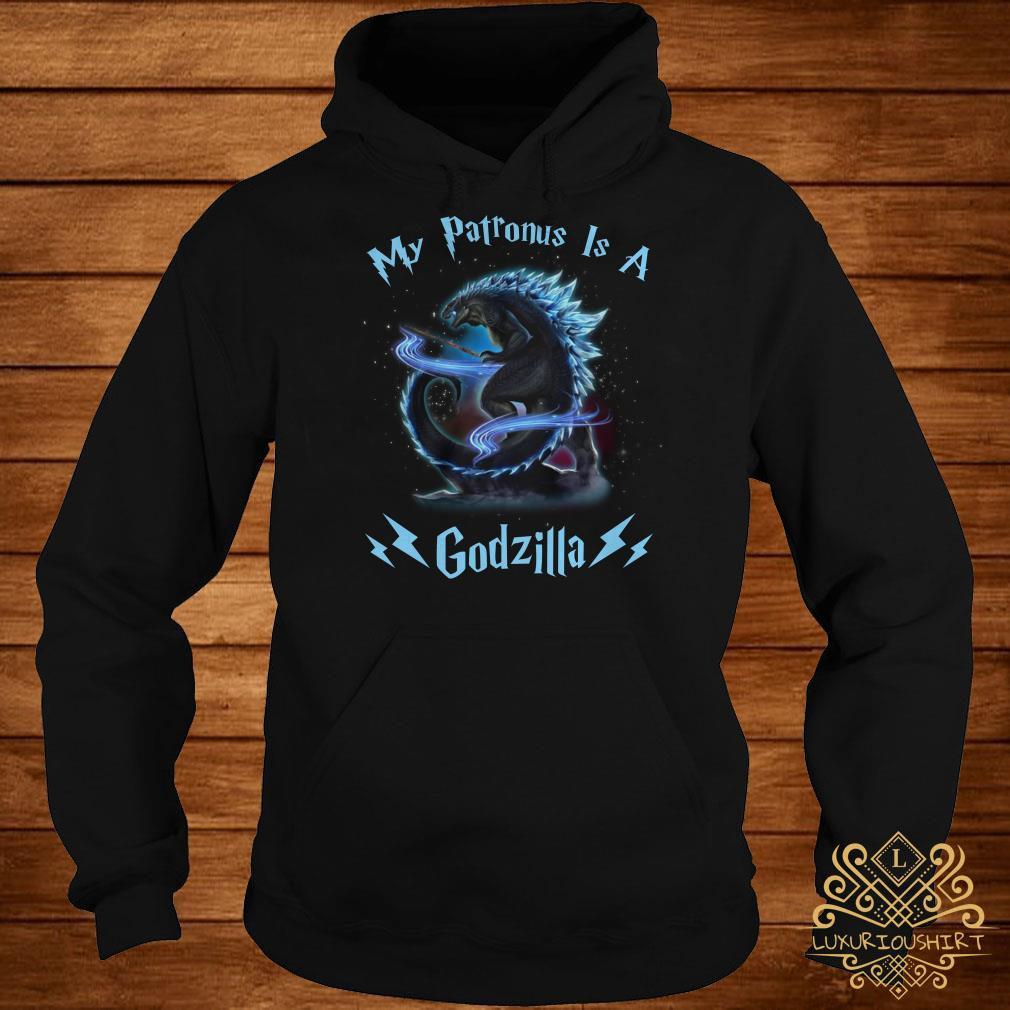Harry Potter my Patronus is a Godzilla hoodie