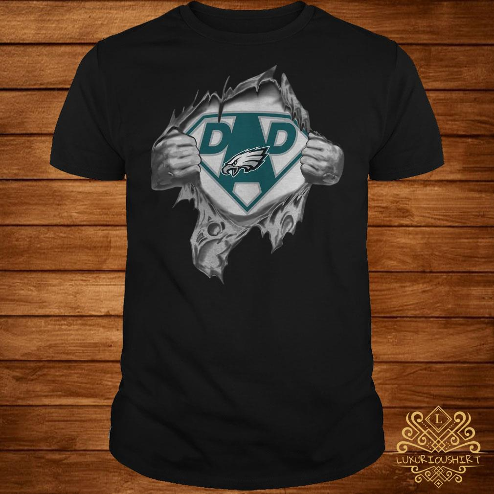 new product 3657e 46a0e Philadelphia Eagles dad shirt