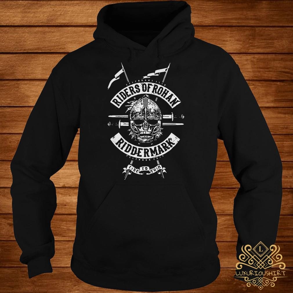 Riders of Rohan Tolkien's The Lord of the Rings inspired hoodie