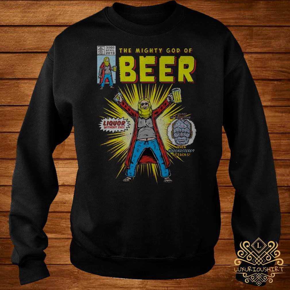 Thor the mighty god of beer sweater