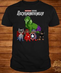 Avengers Endgame Dachshund Dachshundvenger shirt