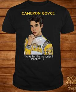 Cameron Boyce thanks for the memories 1999 2019 shirt