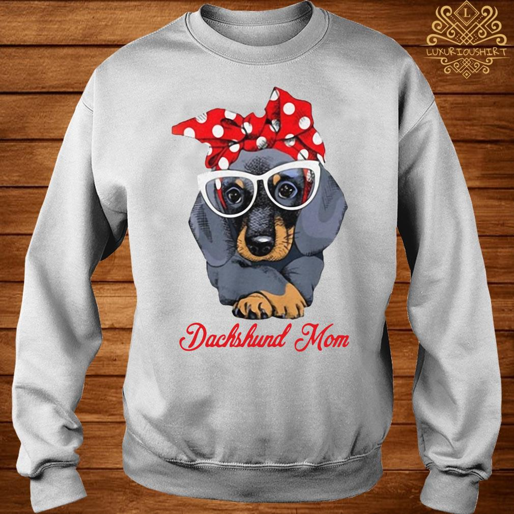 Dachshund mom sweater