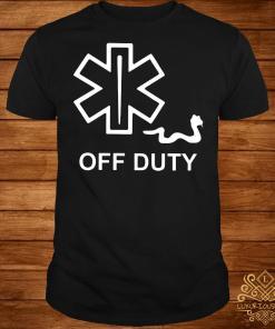 EMT Decal off duty shirt